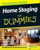 Home Staging For Dummies ebook by Jan Saunders Maresh, Christine Rae