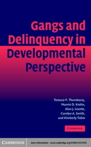 Gangs and Delinquency in Developmental Perspective ebook by Thornberry, Terence P.