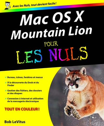 Mac OS X Mountain Lion Pour les Nuls ebook by Bob LEVITUS