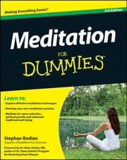 Meditation For Dummies, with Audio CD ebook by Stephan Bodian,Dean Ornish