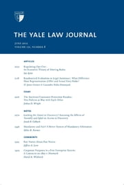 Yale Law Journal: Volume 121, Number 8 - June 2012 ebook by Yale Law Journal