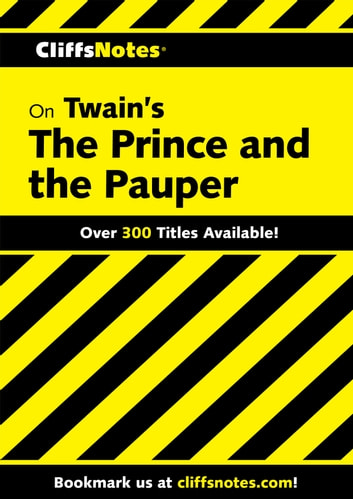 CliffsNotes on Twain's The Prince and the Pauper ebook by L. David Allen,James L. Roberts