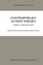Contemporary Action Theory Volume 1: Individual Action ebook by Ghita Holmström-Hintikka,R. Tuomela