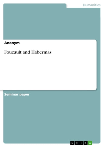 Foucault and Habermas ebook by Anonymous