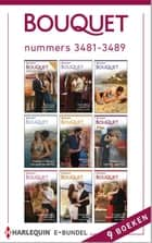 Bouquet e-bundel nummers 3481-3489 (9-in-1) ebook by Chantelle Shaw, Caitlin Crews, Melanie Milburne,...
