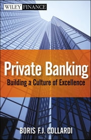 Private Banking - Building a Culture of Excellence ebook by Boris F. J. Collardi