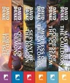 The Lord of Isles Series - Lord of the Isles, Queen of Demons, Servant of the Dragon, Mistress of the Catacombs, Goddess of the Ice Realm, Master of the Cauldron ebook by David Drake