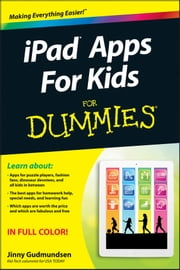 iPad Apps For Kids For Dummies ebook by Jinny Gudmundsen