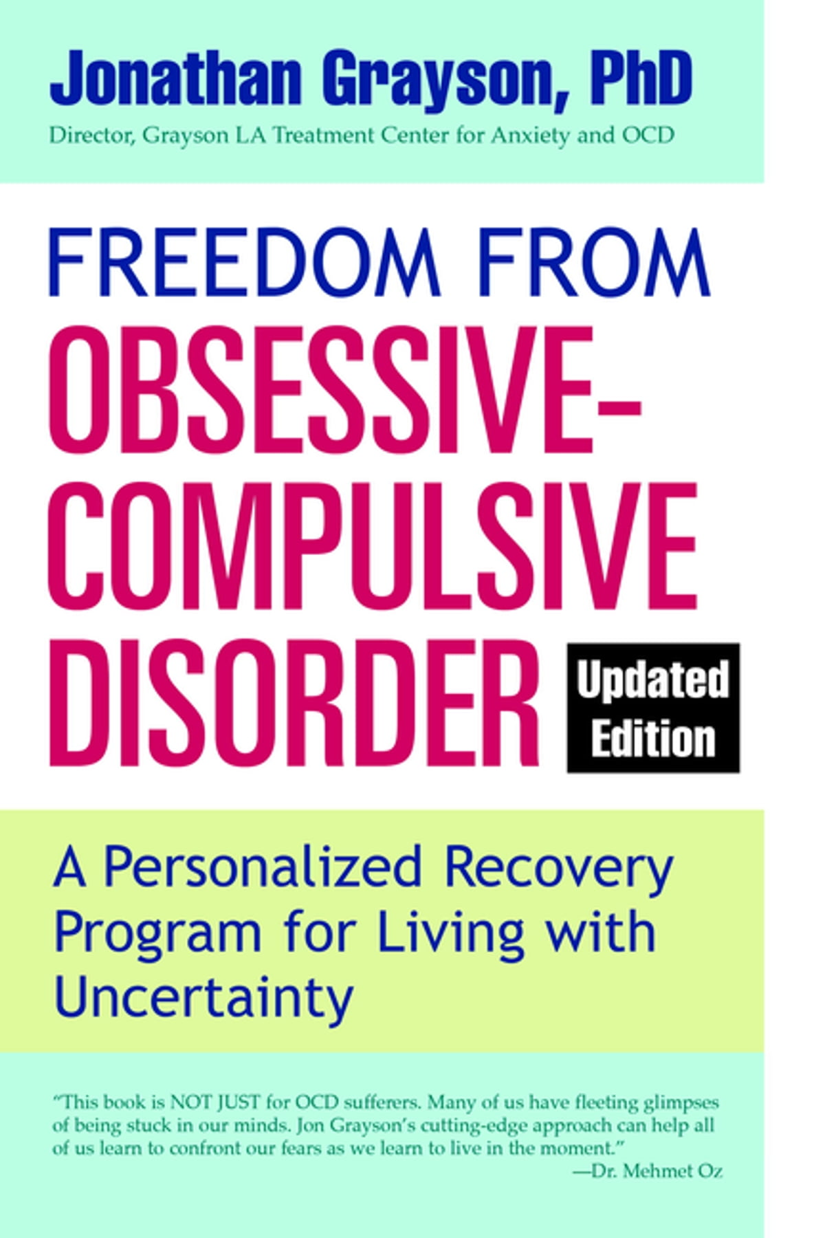 Freedom from Obsessive Compulsive Disorder eBook by Jonathan ...