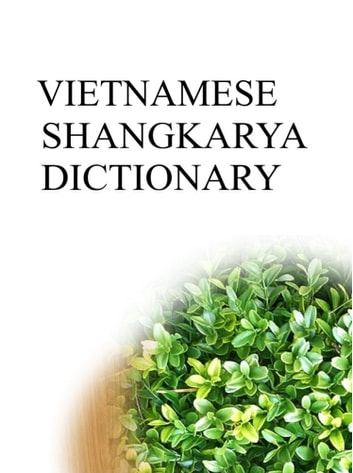 VIETNAMESE SHANGKARYA DICTIONARY ebook by Remem Maat
