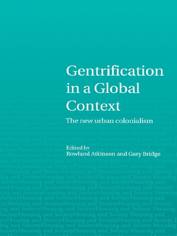 Gentrification in a Global Context ebook by