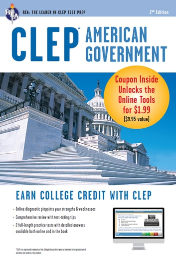 CLEP American Government w/ Online Practice Exams ebook by Preston Jones