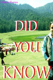Did You Know ebook by Mahesh Sharma