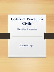 Codice di procedura civile ebook by Studium Legis
