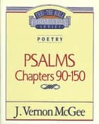 Psalms III ebook by J. Vernon McGee