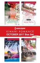Harlequin Kimani Romance October 2017 Box Set - Never Christmas Without You\Tempted at Twilight\Sizzling Desire\The Heat Between Us ebook by Jamie Pope, Kayla Perrin, Cheris Hodges,...