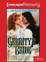 Gerrity's Bride ebook by Carolyn Davidson