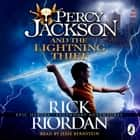 Percy Jackson and the Lightning Thief (Book 1) luisterboek by Rick Riordan, Jesse Bernstein