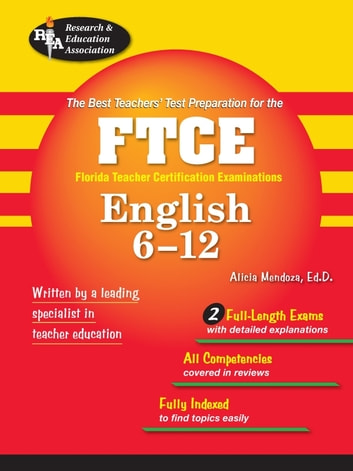 FTCE English 6-12 ebook by Alicia Mendoza