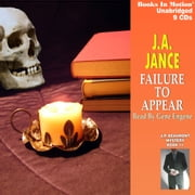 Failure to Appear audiobook by J A Jance