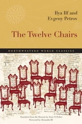 Elegant Book Cover. The Twelve Chairs
