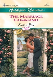 The Marriage Command (Mills & Boon Cherish) ebook by Susan Fox