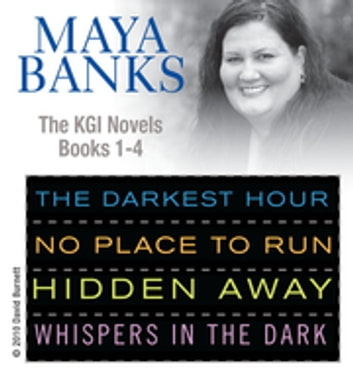 Maya Banks KGI series 1- 4 ebook by Maya Banks