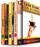 Lexie Starr Cozy Mysteries Boxed Set (Three Complete Cozy Mysteries in One) eBook von Jeanne Glidewell