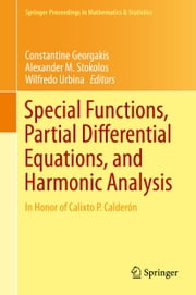 Special Functions, Partial Differential Equations, and Harmonic Analysis - In Honor of Calixto P. Calderón ebook by Wilfredo Urbina,Wilfredo Urbina,Alexander M. Stokolos