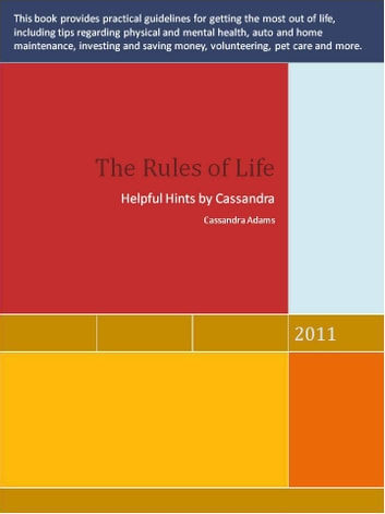 The Rules of Life ebook by Cassandra Adams