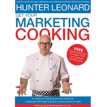 Get your Marketing Cooking audiobook by Hunter Leonard