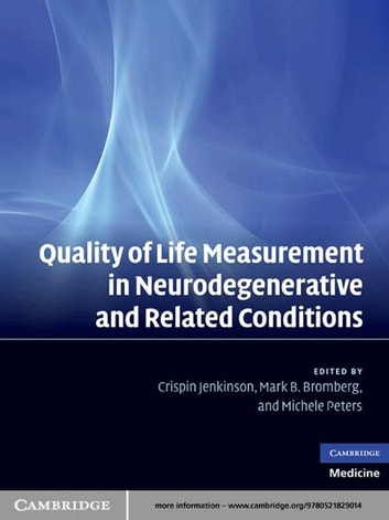 Quality of Life Measurement in Neurodegenerative and Related Conditions ebook by