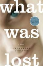 What Was Lost - A Novel ebook by Catherine O'Flynn