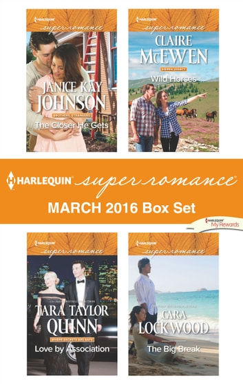 Harlequin Superromance March 2016 Box Set - An Anthology 電子書 by Janice Kay Johnson,Tara Taylor Quinn,Claire McEwen,Cara Lockwood