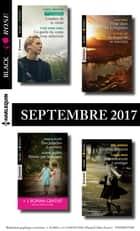 8 romans Black Rose + 1 gratuit (nº443 à 446 - Septembre 2017) ebook by Collectif