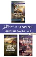 Harlequin Love Inspired Suspense June 2017 - Box Set 1 of 2 - An Anthology ebook by Valerie Hansen, Kit Wilkinson, Jenna Night