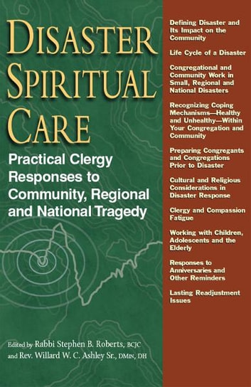 Disaster Spiritual Care: Practical Clergy Responses to Community, Regional and National Tragedy ebook by Rabbi Stephen B. Roberts