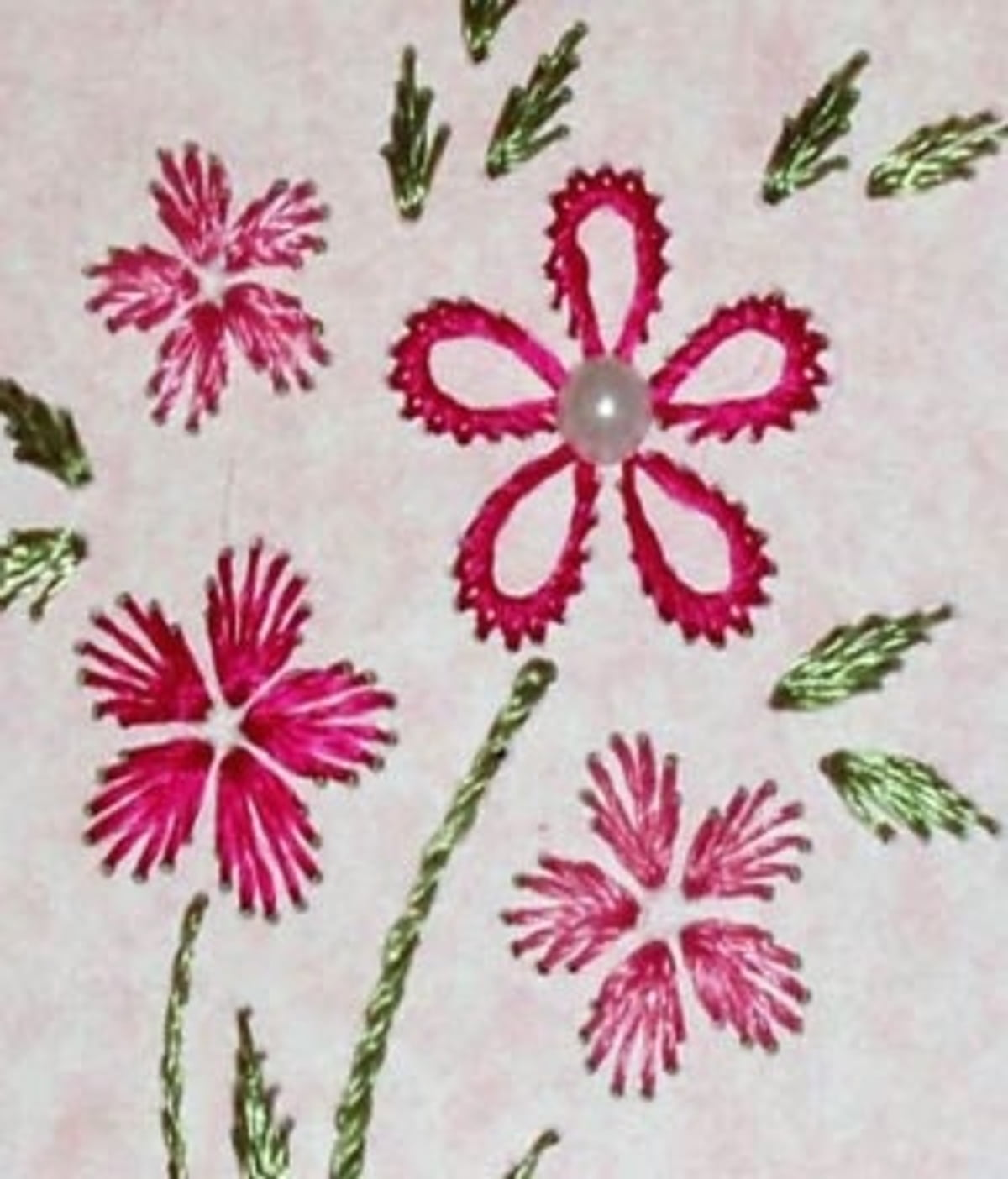 Embroidery Basics Beginners Embroidery Different Types Of