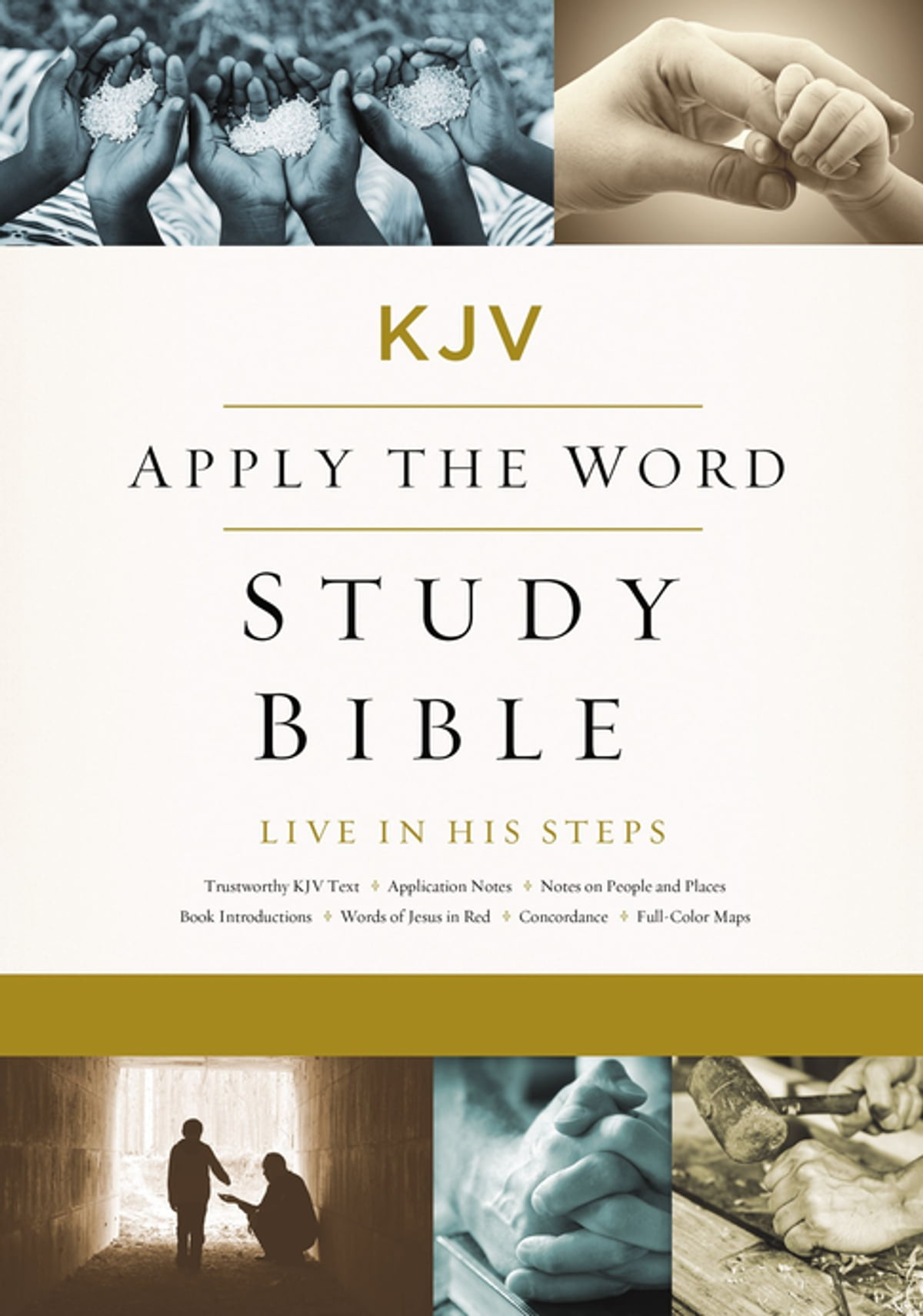 KJV, Apply the Word Study Bible, Ebook, Red Letter Edition eBook by ...