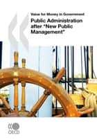 "Public Administration after ""New Public Management"" ebook by Collective"
