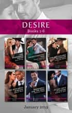 The Forbidden Texan/Inconveniently Wed/The Billionaire Renegade/The Rancher's Bargain/Bombshell for the Boss/At the CEO's Pleasure ebook by Maureen Child, Joanne Rock, Catherine Mann,...