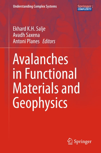 Avalanches in Functional Materials and Geophysics ebook by