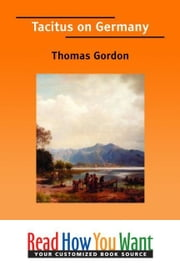 Tacitus On Germany ebook by Gordon Thomas