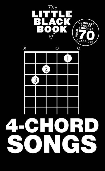 The Little Black Book Of 4 Chord Songs Ebook By Wise Publications