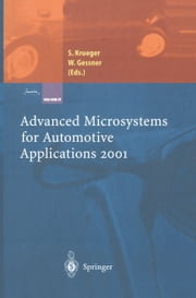Advanced Microsystems for Automotive Applications 2001 ebook by Sven Krueger,Wolfgang Gessner