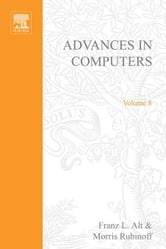 Advances in Computers ebook by Alt, Franz L.