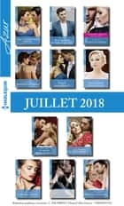 11 romans Azur + 1 gratuit (nº3971 à 3981 - Juillet 2018) ebook by Collectif