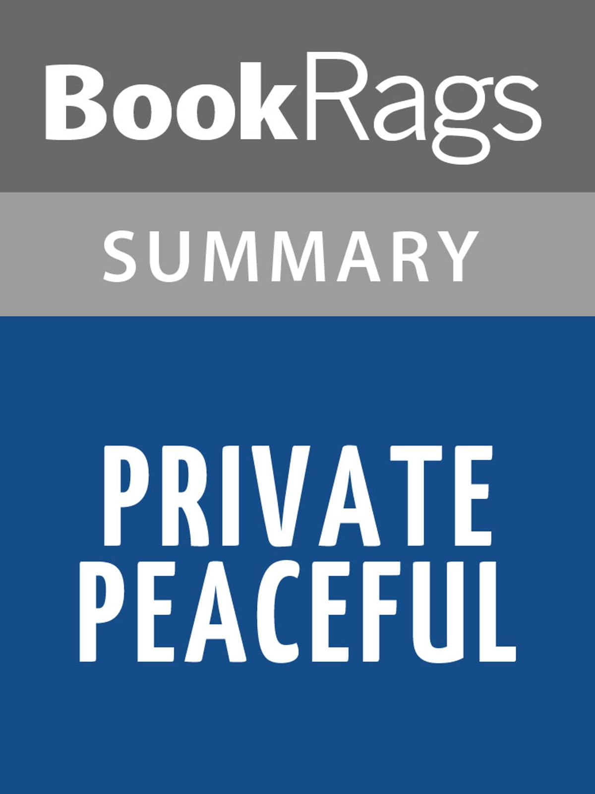Private Peaceful Ebook