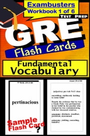 GRE Test Prep Essential Vocabulary 1 Review--Exambusters Flash Cards--Workbook 1 of 6 - GRE Exam Study Guide ebook by Kobo.Web.Store.Products.Fields.ContributorFieldViewModel