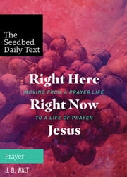 Right Here, Right Now, Jesus: Moving from a Prayer Life to a Life of Prayer ebook by J. D. Walt